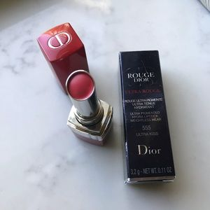 Rouge Dior in 555 Ultra Kiss